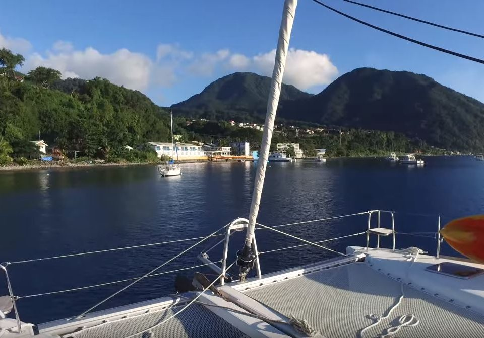 Sailing the Caribbean with a Lagoon 400 catamaran (Part 1 from Martinique to St Maarten)
